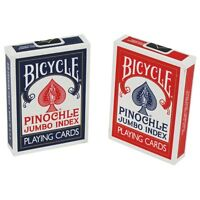 Bicycle Jumbo Index Playing Cards - Set Of 2