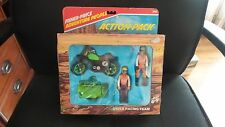 1980 Fisher Price Adventure People Action Pack  Racing Team MOTOCROSS 356 USA