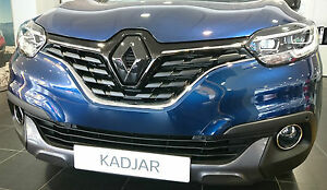 Renault-Kadjar-2015-GLOSS-BLACK-FRONT-amp-REAR-BADGE-EMBLEM-COVER-MANY-COLOURS