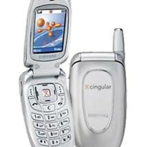 Samsung SGH X427 - Silver (Cingular/AT&T) Cellular Phone - For PARTS Only