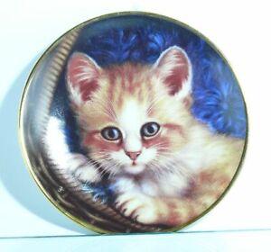 Collection-Plate-Schirnding-Bavaria-Cat-Schnurrendes-Wohlbehagen-Mit-Certificate