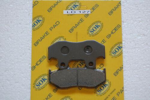 REAR BRAKE PADS fit HONDA ATC 250 R 85-86 ATC250R