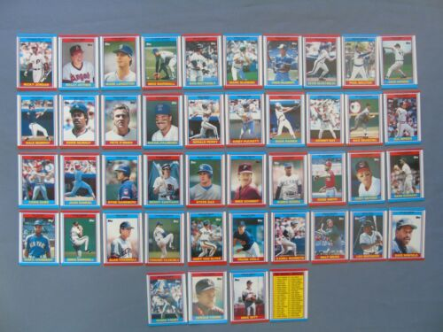 UK Topps Full Set of American Baseball 1989 In Mint Condition