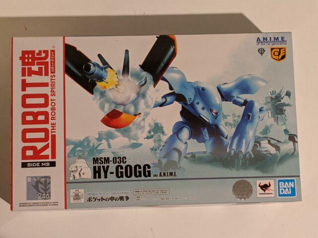 Figure BANDAI ROBOT SPIRITS SIDE MS Gundam 0080 MSM-03C HY-GOGG Ver A.N.I.M.E