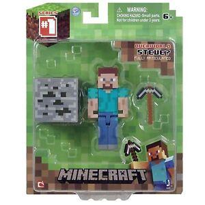 Minecraft-16501-3-inch-Steve-Action-Figure-Toy