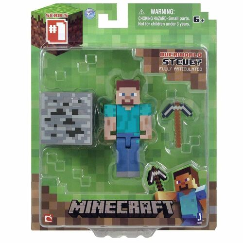 Minecraft 3-inch Steve Action Figure