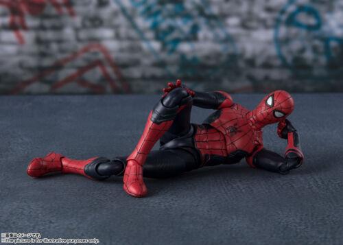 BANDAI SPIRITI ** Figuarts Spider-Man Tuta di aggiornamento SPIDER-MAN lontano da casa S.H