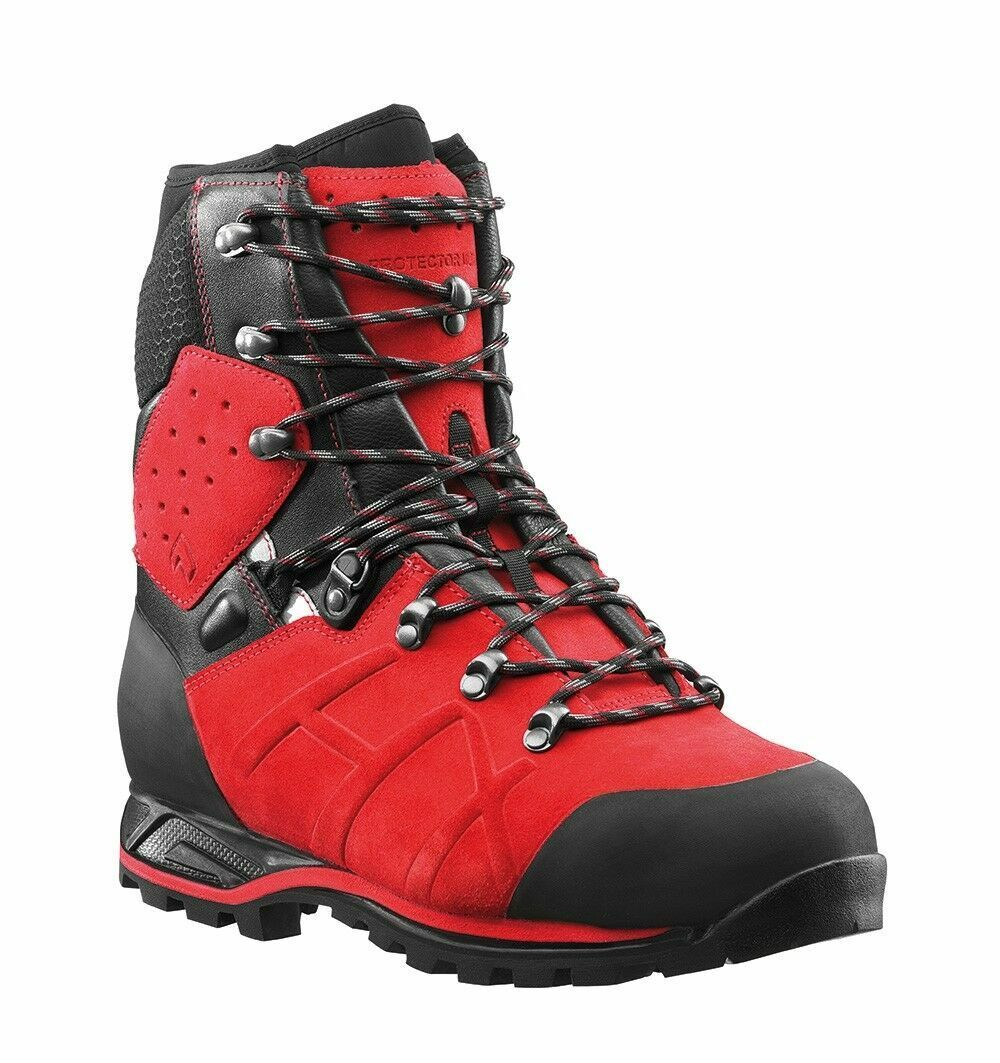Haix Protector Ultra Class 2 rot Chainsaw Stiefel-- 60310905