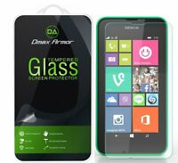Dmax Armor® Nokia Lumia 530 Tempered Glass Screen Protector Saver Shield