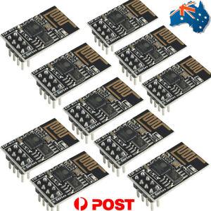 Details about AU 10pcs ESP8266 ESP-01S WiFi Serial Transceiver Module 1MB  Flash for Arduino