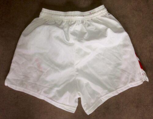 S-M-L-XL Neuf Retro Shirt Maillot Match Adidas Vintage Short Liverpool Blanc T