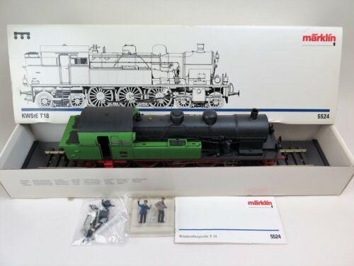 Märklin 5524 Dampflok T18 der K.W.St.E mit OVP Spur 1