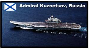 Admiral Kuznetsov, Russie, Aircfaft Porteur - Souvenirs, Frigo Aimant - Neuf