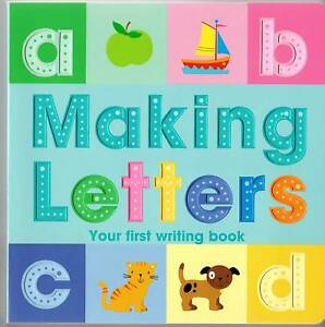 Alphabet Making Letters HardbackBook-G<wbr/>reat for Children