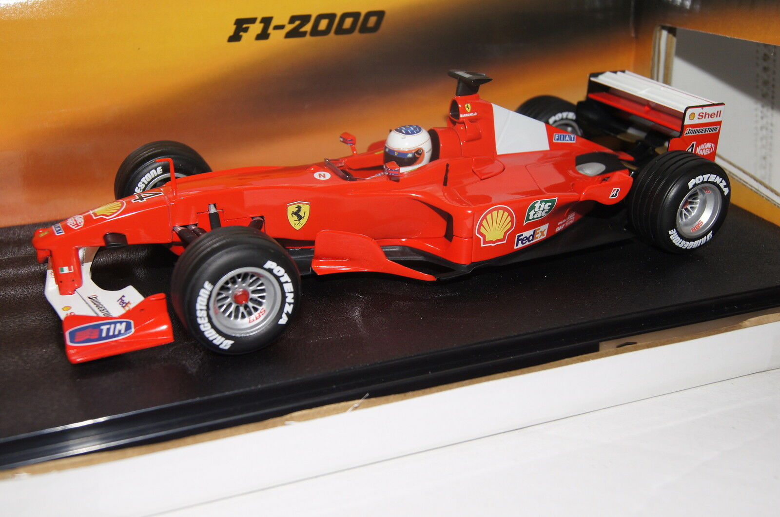 Formula 1 2000 FERRARI f2000 R. Barrichello  41 18 Hot Wheels NUOVO & OVP 26738