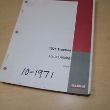 Case Ih International 1026 Tractor Parts Manual Book Spare Catalog Farm 1971