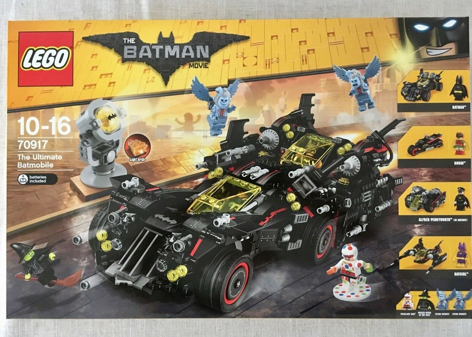 LEGO The Batman Movie  The Ultimate Batmobile (70917) New Sealed