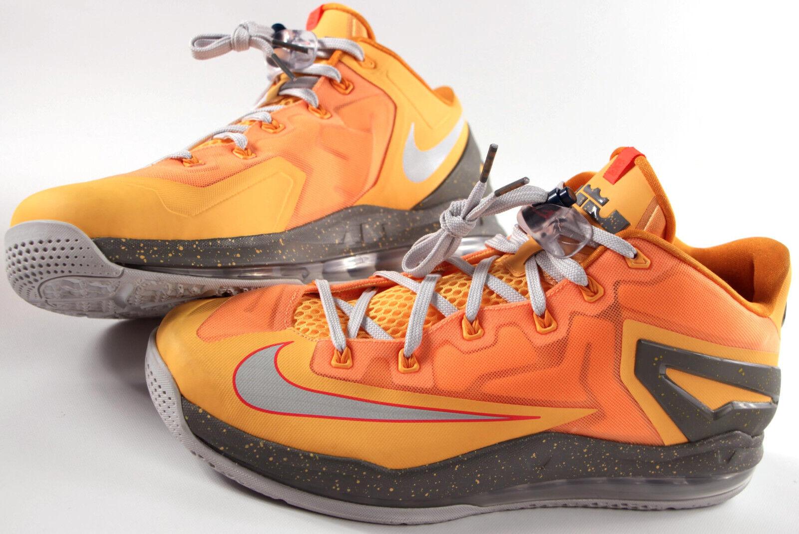 NIKE air Max -170 LEBRON XI Low Shoes-12-New -170 Max LJ James basketball- + Lace locks- 84a14f