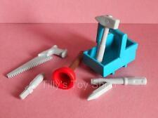 Playmobil Ciudad De La Vida / obra de construcción-conjunto de herramientas para Workman-Nuevo