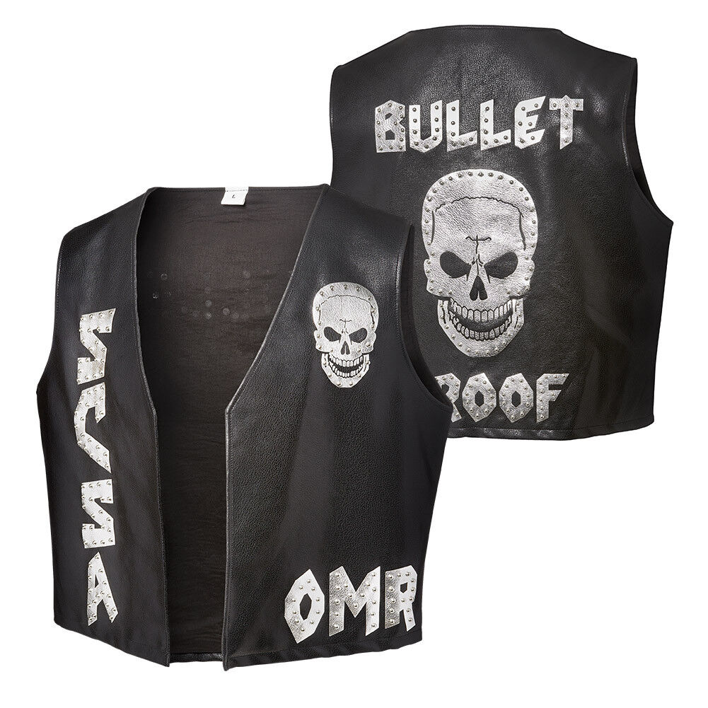 WWE Stone Cold Cold Cold Steve Austin  One More Round  Replica Vest NEU Weste Official | Deutschland Frankfurt