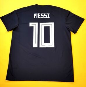 88daae2f8 5+ 5 Messi Argentina jersey large 2018 away shirt CD8565 soccer ...