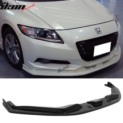 Fits 2011-2012 Honda CRZ Mugen Style ABS Front Bumper Lip Spoiler Bodykit