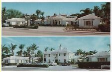 West Palm Beach, Florida,  Views of The ORIGINAL MOUNT VERNON MOTOR LODGE, 1961
