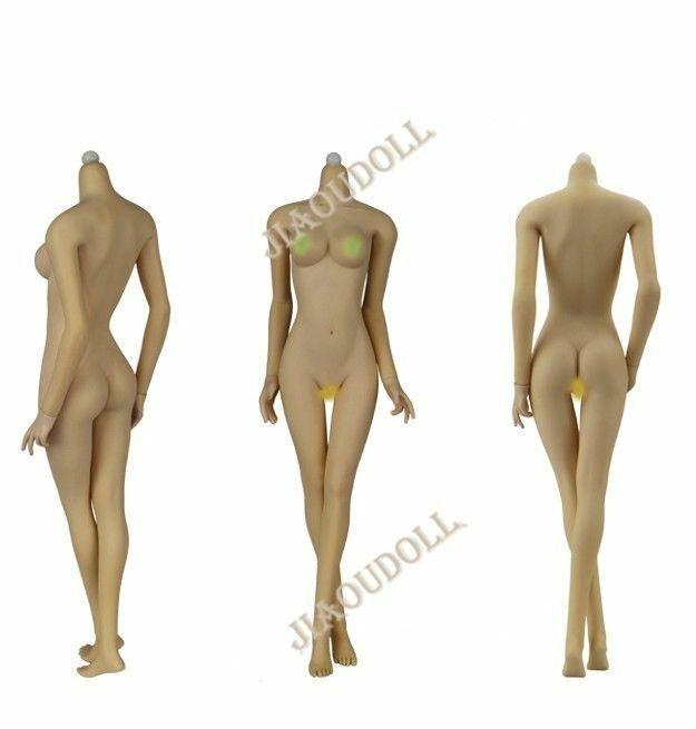 1 6 jiaou doll Tan  Skin JOQ-06C-YS Moyen Buste figure féminine Corps Poupées cadeaux  magasin pas cher