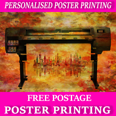 Custom Photograph Photo Poster Print various sizes available