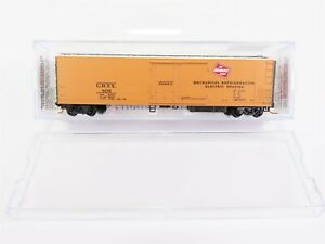 N-Scale-Micro-Trains-Line-MTL-06900060-MILW-URTX-Mechanical-Reefer-805-RTR