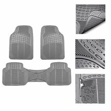 Universal Floor Mats For Car All Weather Heavy Duty 3pc Set Gray Fits 2012 Toyota Corolla