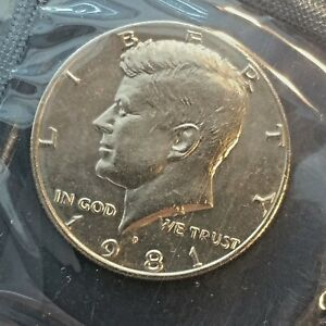 1971 P+D Kennedy Half Dollars ~ Choice Uncirculated in Mint Cello from Mint Set