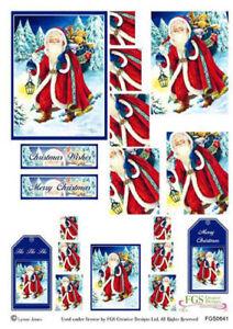 Decoupage-Sheet-Card-Making-Father-Christmas-Christmas-Twister