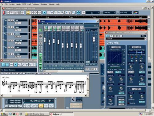 Cubase 4 Le Desktop Recording Studio Includes Lexicon Pantheon Reverb Plugins