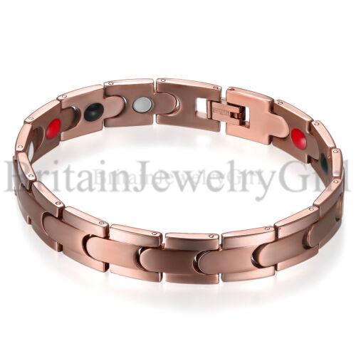 "8.46/"" Men/'s Magnetic Health Therapy Care Titanium Steel Energy Bracelet*12MM"