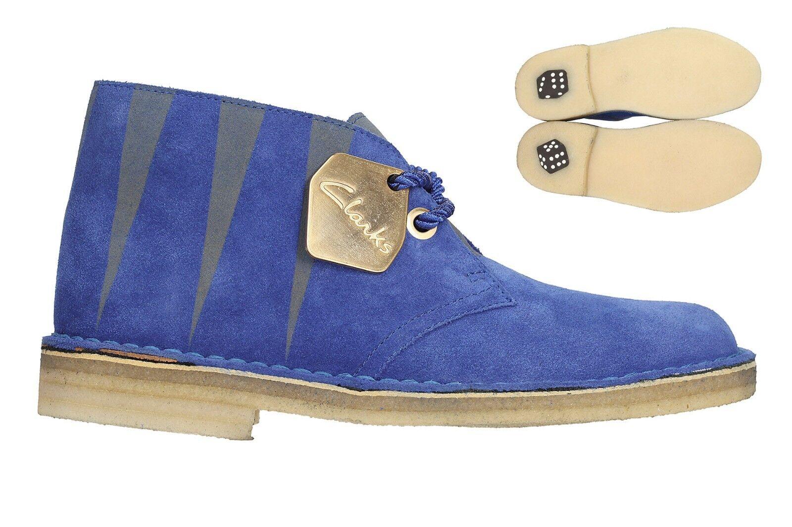 Clarks Original Men  Desert Luck Electric bluee  65Years Anniv  UK 8,9,10 G