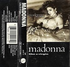 Like a Virgin by Madonna (Cassette, Nov-1984, Sire) USED VG