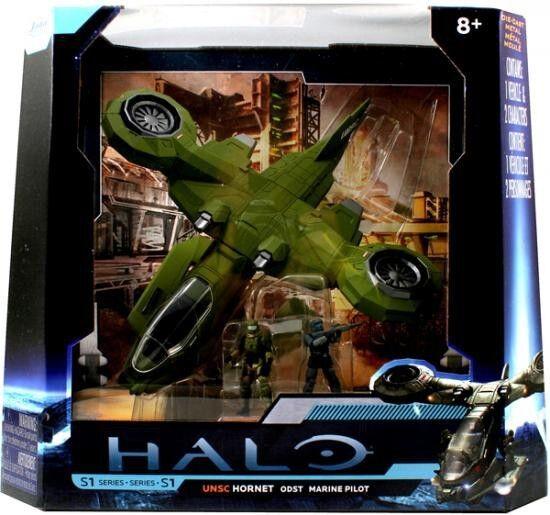 Halo 4 zu folge - hornet odst mit marine pilot 10 zentimeter gesetzt   96621 druckguss