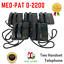 thumbnail 1 - LOT OF 5 MED-PAT D-2200 2 Can Talk 2 Dual Handset Conference Phone
