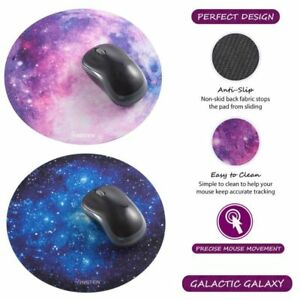 Non-Slip-Round-Galaxy-Mouse-Pad-Mice-Mat-For-Laptop-Notebook-Computer-PC-Gaming