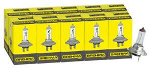 10x-H7-BREHMA-12V-55W-Birnen-Lampen-Autolampe-Birne-Halogen-Lampe-PX26d-Classic