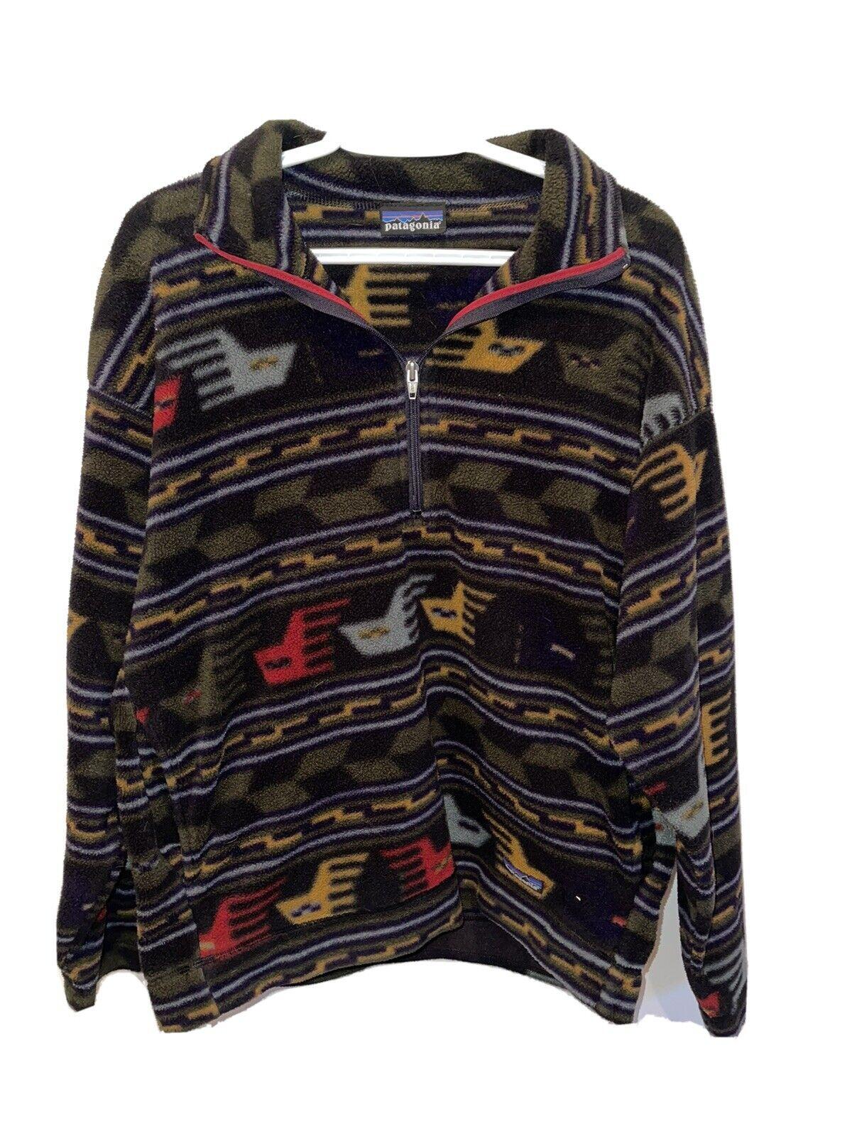 Rare Vintage Aztec Tribal Patagonia Jacket (80s o… - image 1