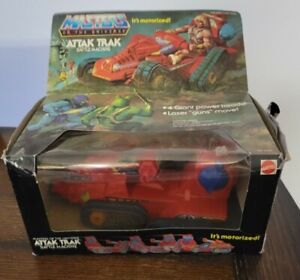 1982 Mattel ATTAK TRAK He-Man Masters of the Universe MOTU w/Original Box