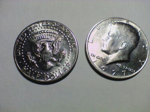 Denver Mint 1977 P//D Kennedy Half Dollar H.T.F Philadelphia Mint
