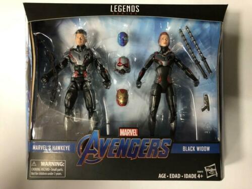 "Toys Hero In Hand Marvel Ledends Avengers 4 6/"" Marvel/'s Hawkeye /& Black Widow"