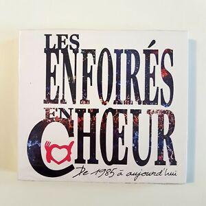 LES-ENFOIRES-EN-CHOEURS-DE-1985-A-AUJOURD-HUI-2-x-CD-DVD-NEUF-COFFRET