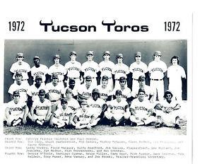 1972-TUCSON-TOROS-8X10-TEAM-PHOTO-PCL-CHICAGO-WHITE-SOX-BASEBALL-USA-ARIZONA