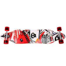 "41"" X 9-1/2"" Longboard Skateboard Cruiser Through downhill Complete Excellent!"