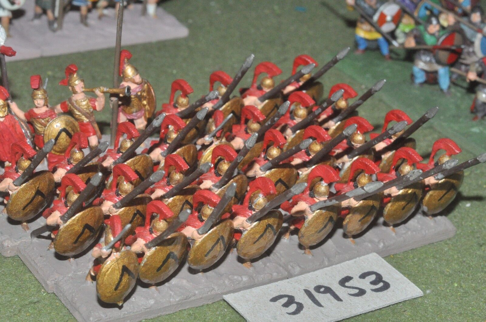 Illuminez le cadeau de Noël en Irak. 25 mm mm mm Classique/grec-Hoplites 32 figures-INF (31953) 83c493