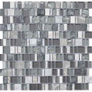 Karma Stone And Glass Mosaic Tiles Bliss Kitchen Backsplash